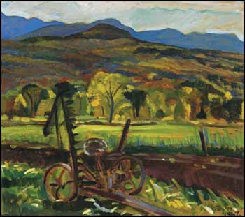 Autumn Near Austin, PQ by Nora Frances Elizabeth Collyer