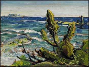 West Wind, Georgian Bay by Arthur Lismer