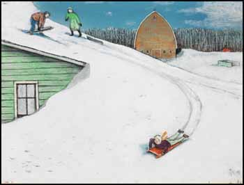 After the Big Blow par William Kurelek