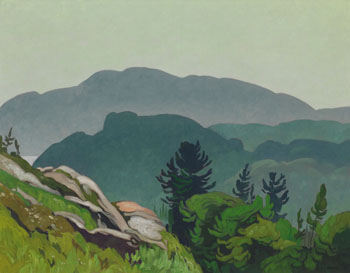 Morning Near Whitefish Falls par Alfred Joseph (A.J.) Casson