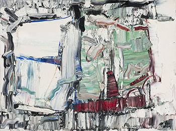 Grand largue by Jean Paul Riopelle