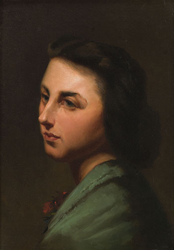 The Artist's Daughter, Bertha by William Raphael