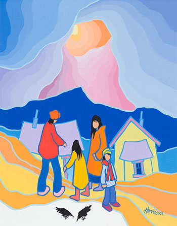 Let's Go Home by Ted Harrison