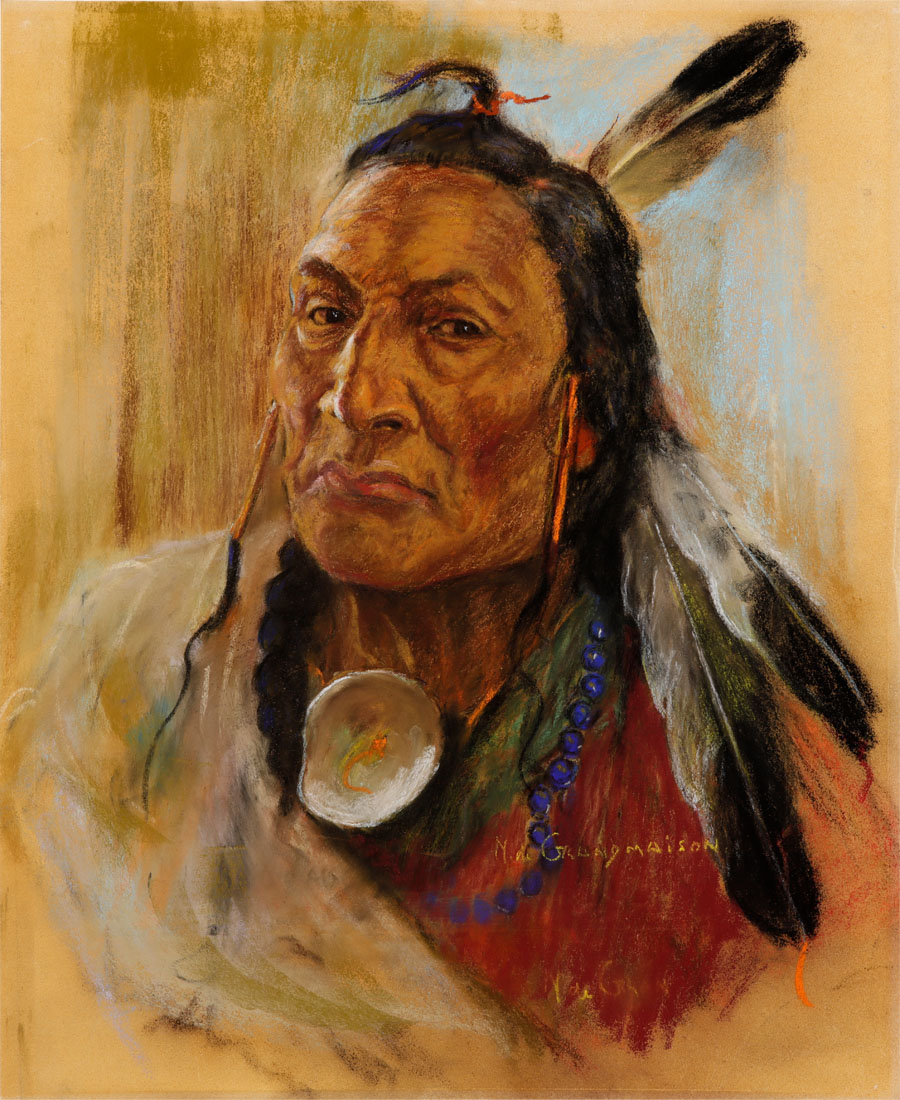 Indian Chief by Nicholas de Grandmaison