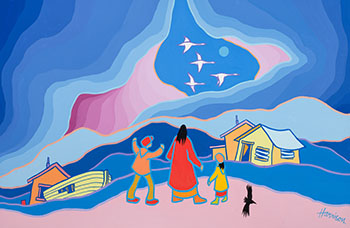 Migrators by Ted Harrison