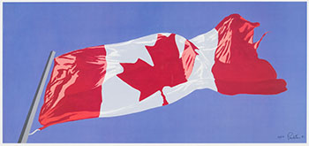 Painted Flag par Charles Pachter