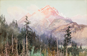 Mountain Scene par Robert Ford Gagen