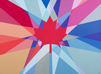 Leaf Radiant by Charles Pachter
