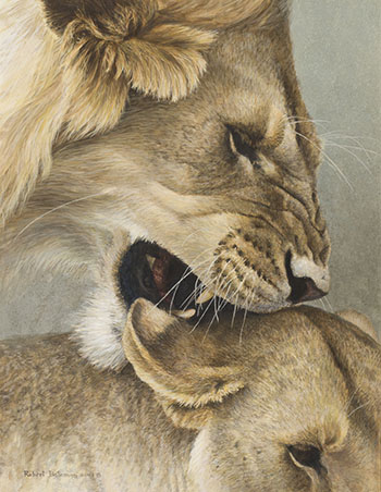 The Mating Game by Robert Bateman
