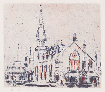 St. Michael's Cathedral par David Brown Milne