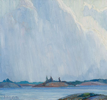 Georgian Bay by Franklin Carmichael