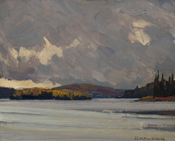Algonquin Park par James Edward Hervey (J.E.H.) MacDonald