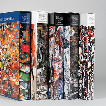 Catalogue raisonné of Jean Paul Riopelle - The Complete set par Jean Paul Riopelle