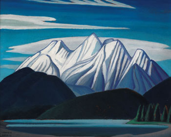 Mountain Sketch LXIII par Lawren Stewart Harris