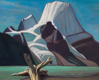 Mount Robson from Berg Lake par Lawren Stewart Harris