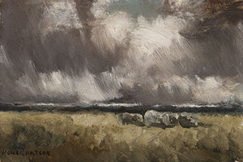 Storm Clouds 2 by Homer Ransford Watson