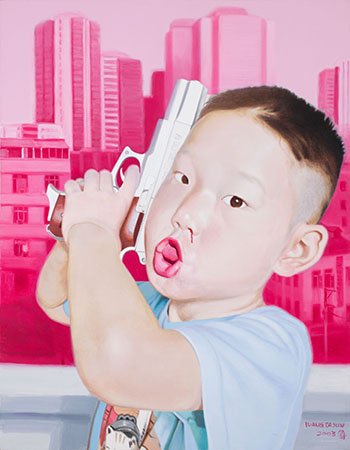 Image of Children #1 par Wang Dajun