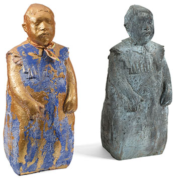 Two Sculptures by Unknown Artist
