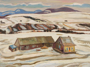 Laurentian Winter by Alexander Young (A.Y.) Jackson