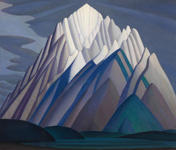 Mountain Forms par Lawren Stewart Harris
