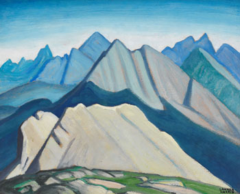 Colin Range - Mountain Sketch LV par Lawren Stewart Harris