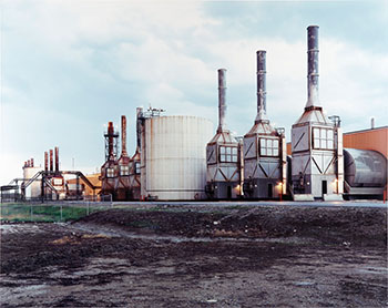 Oil Fields #21, Mashina Stream Plant, Cold Lake par Edward Burtynsky