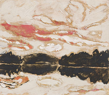 Channel Sunset, Six Mile Lake, Muskoka, Ontario by David Brown Milne