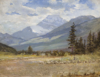Sunny BC Valley by Frederic Marlett Bell-Smith