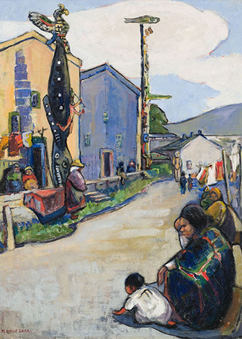 Street, Alert Bay by Emily Carr