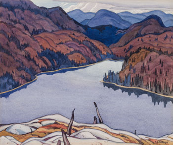 The Lake in the Hills, Lake Superior by Alfred Joseph (A.J.) Casson