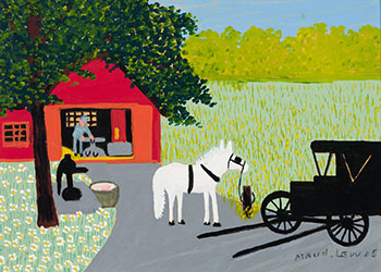 Blacksmith Shop by Maud Lewis