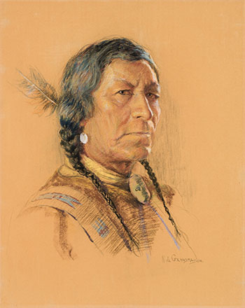 Chief Portrait by Nicholas de Grandmaison