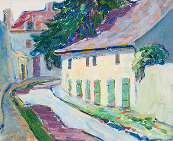 Crécy-en-Brie, France by Emily Carr