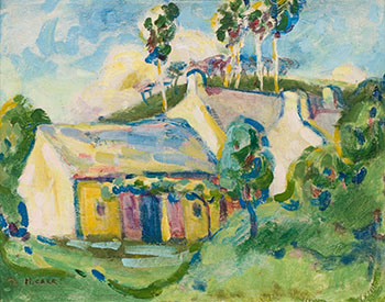 House on the Hill by Emily Carr