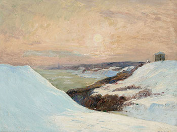 Winter View of Sillery, PQ, from the Plains of Abraham by Maurice Galbraith Cullen