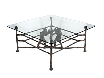 Boxer Table by Joseph Hector Yvon (Joe) Fafard
