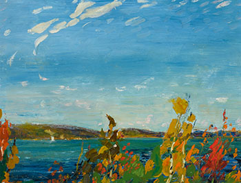 View of Bedford Basin by Arthur Lismer