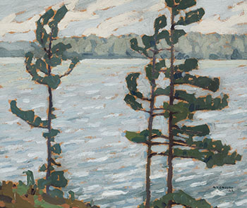 Lake Rosseau by Alfred Joseph (A.J.) Casson