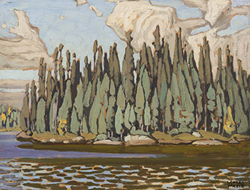 Sand Lake, Algoma (Algoma Sketch CXVI) by Lawren Stewart Harris