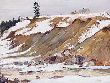 Mt. Rolland: Early Spring by Robert Wakeham Pilot