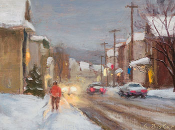 Main Street, Sutton, QC by Antoine Bittar