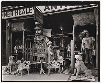 Sumner Healy Antique Shop, New York by Berenice Abbott