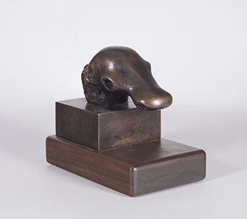Dog's Head by Henry  Moore