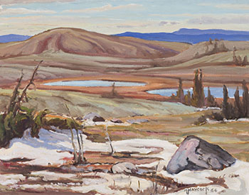 High Country in Central Labrador by Dr. Maurice Hall Haycock