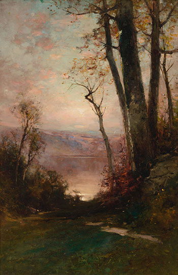Path to the Lake par George Henry Smillie