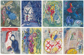 Cirque by Marc Chagall