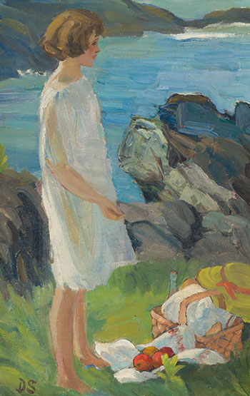 Picnic by the Sea par Dorothea Sharp