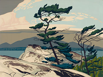 White Pine by Alfred Joseph (A.J.) Casson