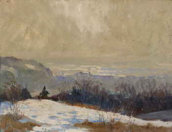 Winter Landscape by Maurice Galbraith Cullen
