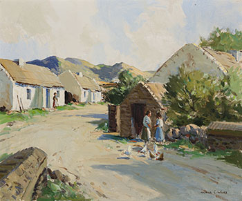 At Doochary, Donegal by Maurice Canning Wilks